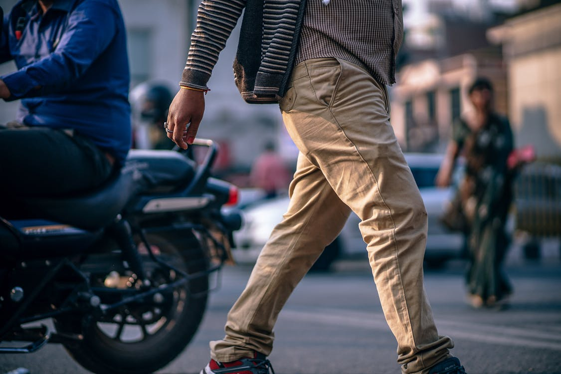 tipos de pantalones de hombre