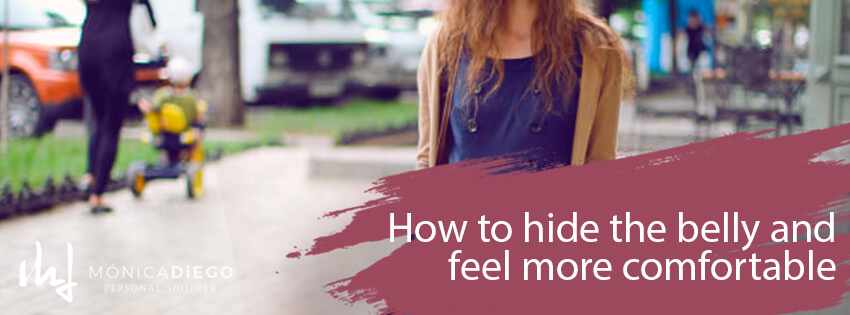 How to hide the belly and feel more comfortable
