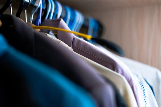 Closet organization, the fear for the seasonal change