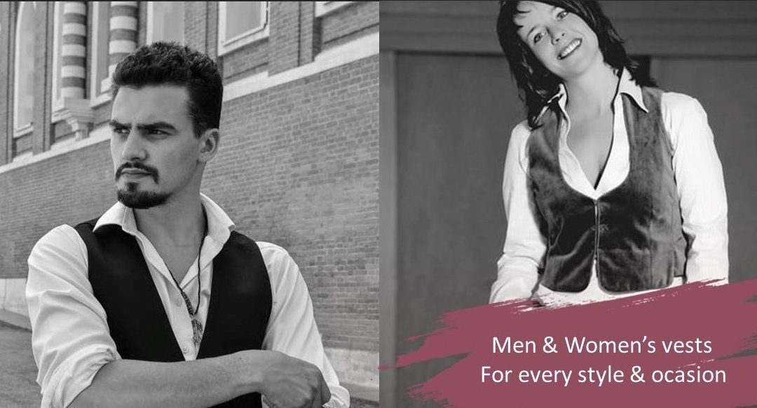 Men's Vests and Women's Vests – A waistcoat for every style and occasion