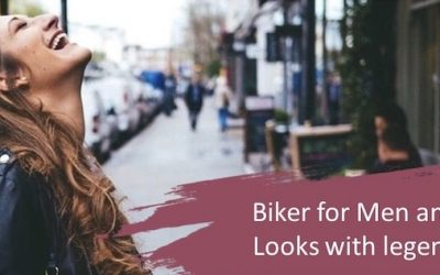 Man, and Women's Biker Jacket – Create looks with the legendary Biker