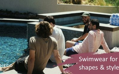 Swimwear for men, shapes and styles