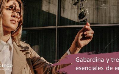 Gabardina y trench mujer, esenciales en guardarropa de entretiempo
