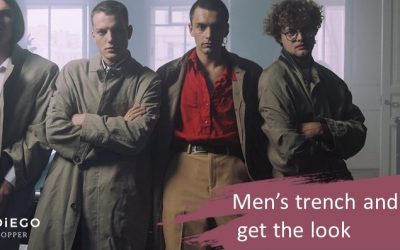 Trench Coats and Gabardines for men