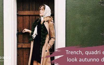 Trench  e sciarpe, look femminile perbene per l'autunno